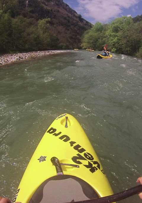 Canoa-Raft en Cantabria